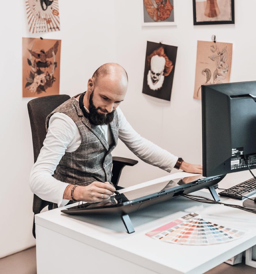 Studio graficzne w PDO